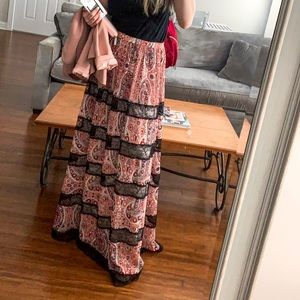 ALICE + OLIVIA maxi skirt size 8